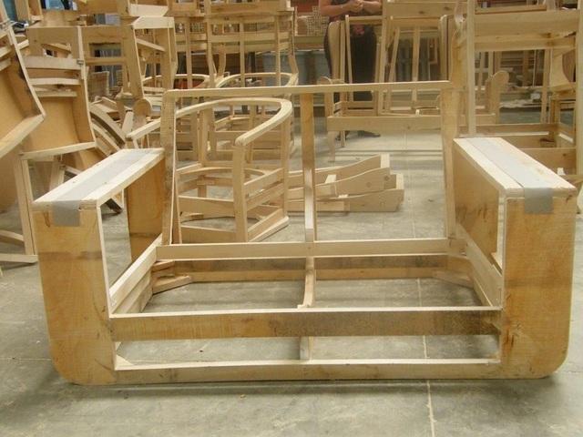 Tham khảo quy trình sản xuất gia công ghế sofa da nỉ ngay tại xưởng sản xuất