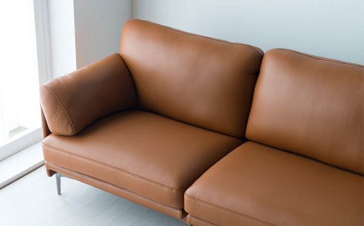 Mẫu sofa da hiện đại HNS08