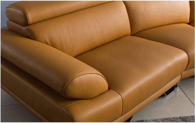 Bề Mặt Da Hàn Quốc Mẫu Sofa Da HNS04
