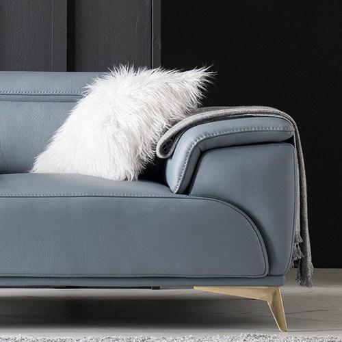 Sofa Da Hiện Đại HNS01