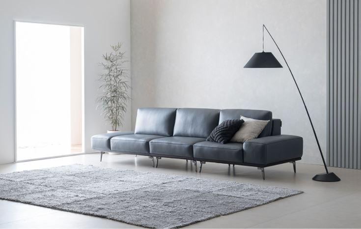 Sofa Da hiện đại HNS12