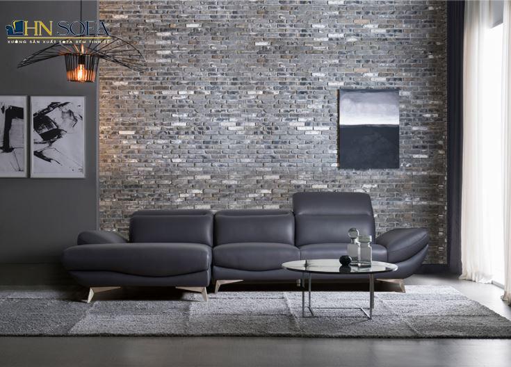 Sofa da chữ L HNS17