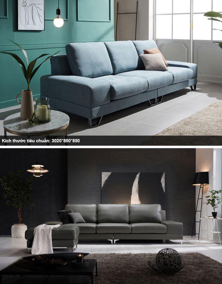 Sofa văng thích hợp cho những không gian phòng khách nhỏ, hẹp