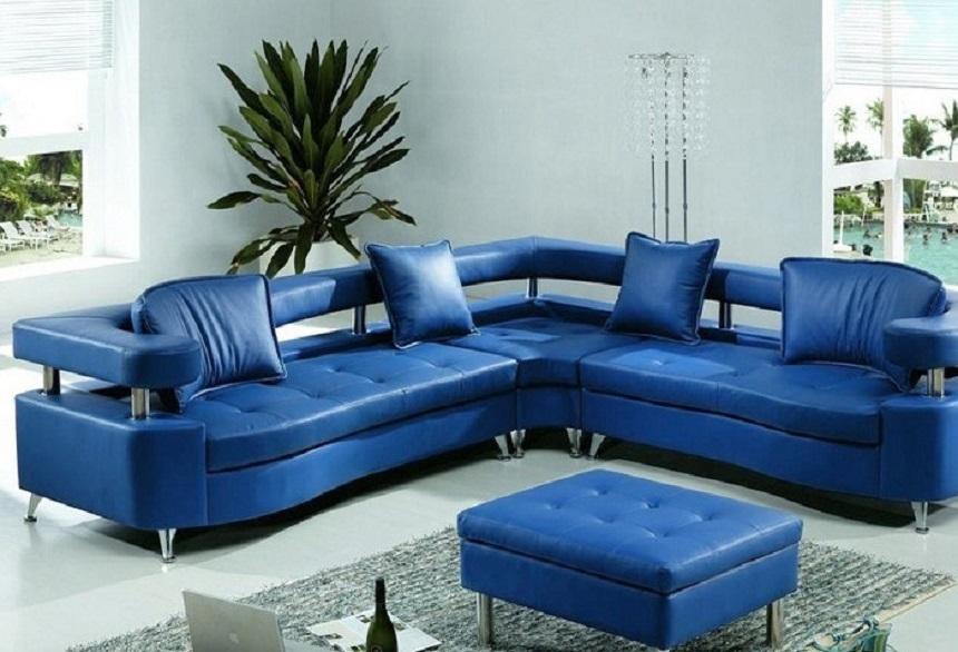 Sofa xanh dương