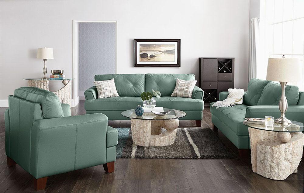Sofa xanh ngọc
