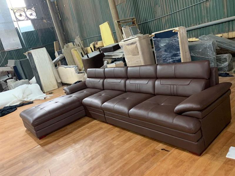 Sofa hoàn thiện tại xưởng