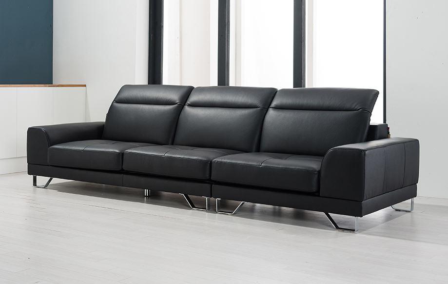 Sofa chờ chất liệu da mã HNS03