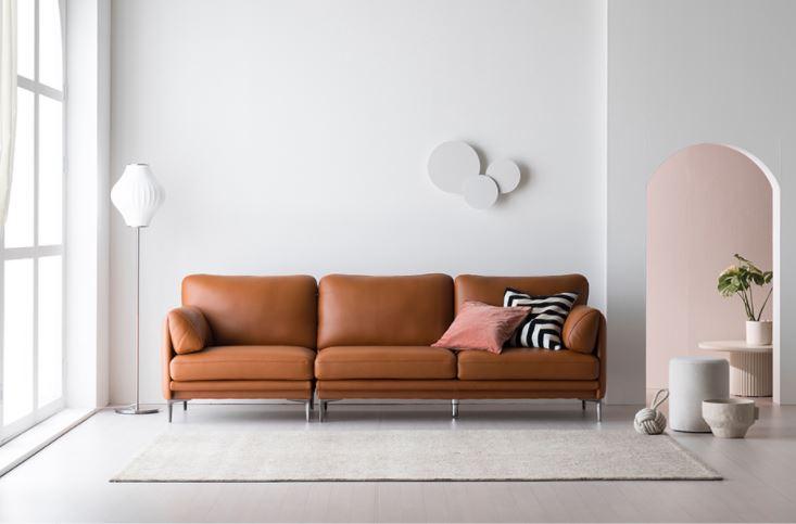 Ghế chờ sofa da mã HNS08