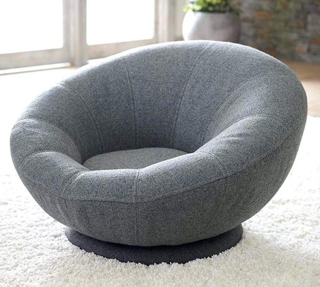 mẫu ghế sofa tròn đơn dành cho 1 người ngồi