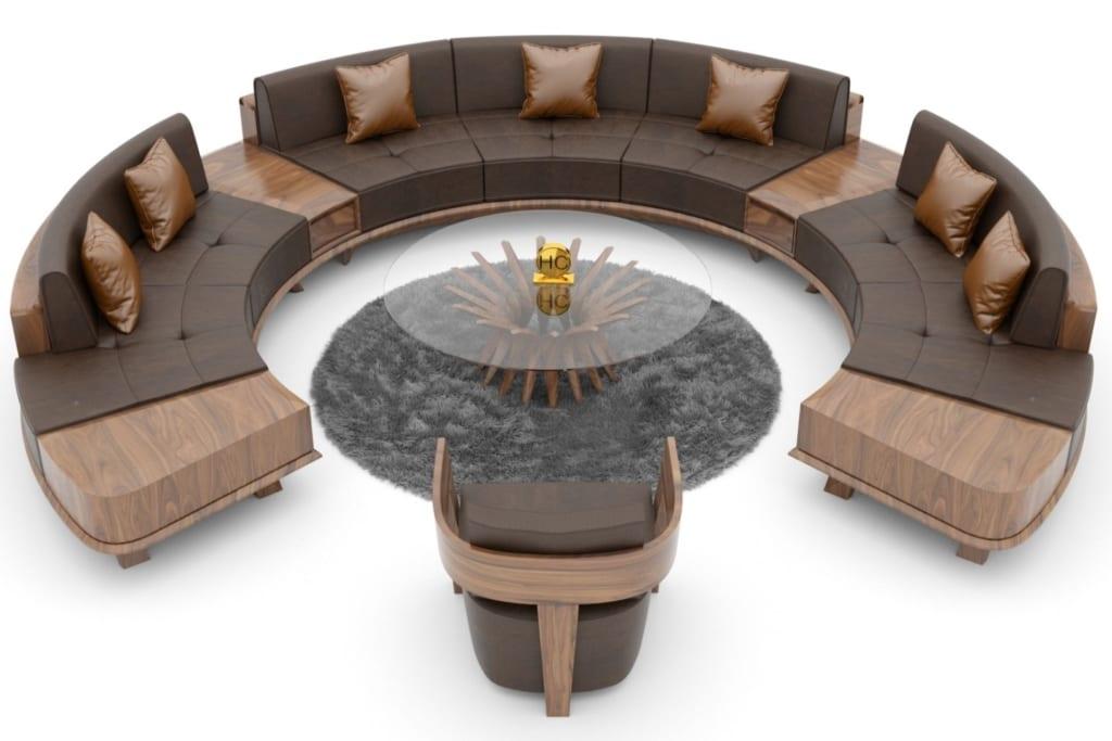 Sofa tròn đẹp ấn tượng