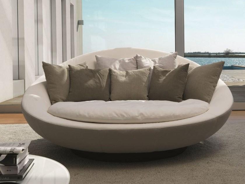 Mẫu ghế sofa tròn 2