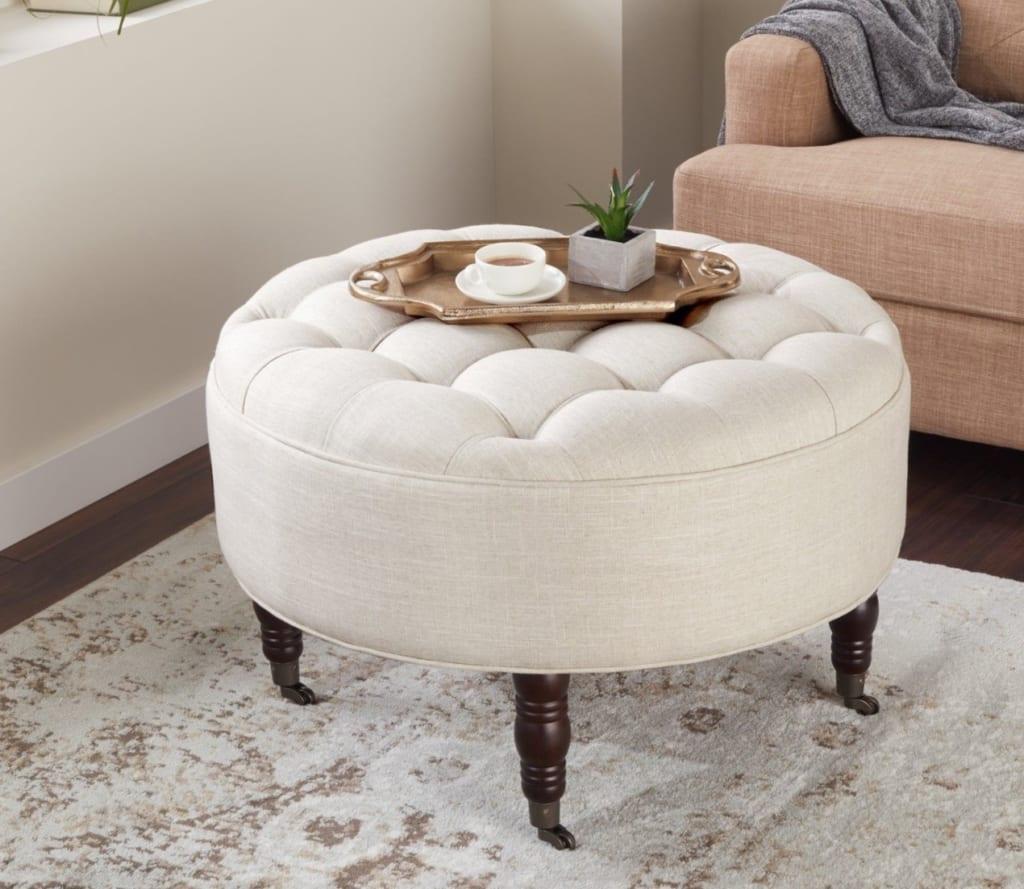 Mẫu ghế sofa tròn 3