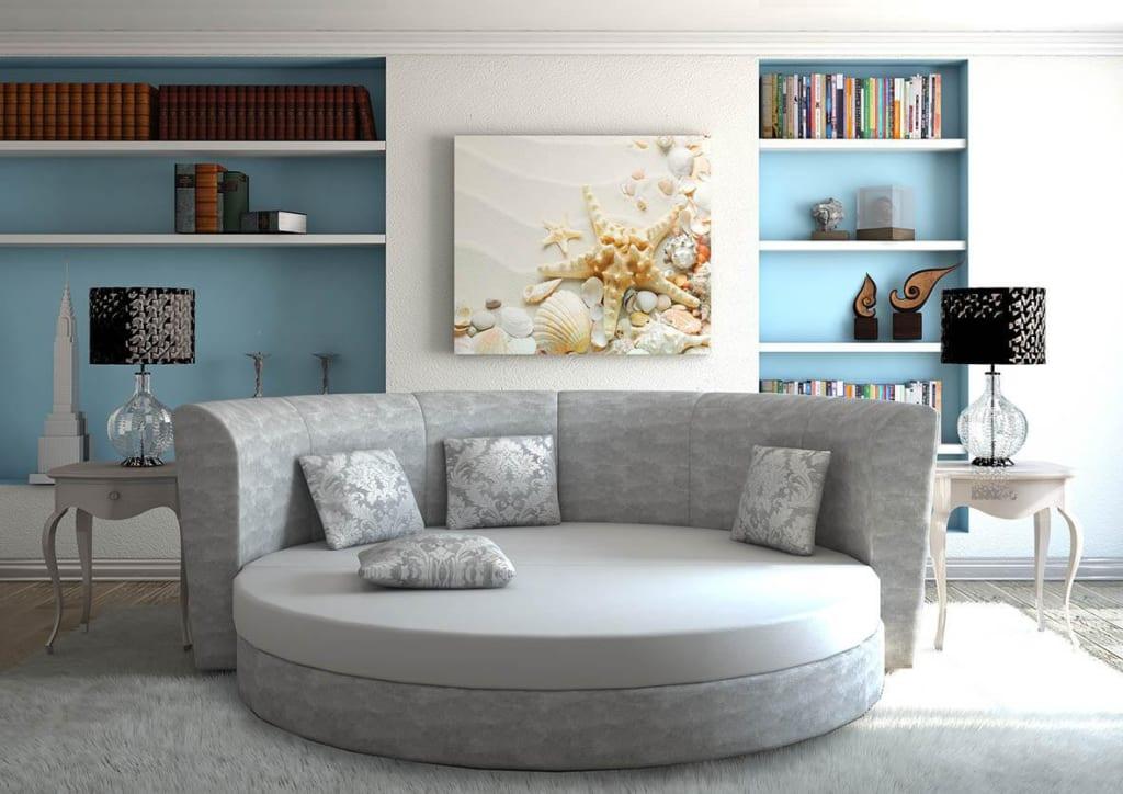 Mẫu ghế sofa tròn 4
