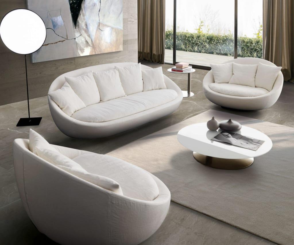 Mẫu ghế sofa tròn 5