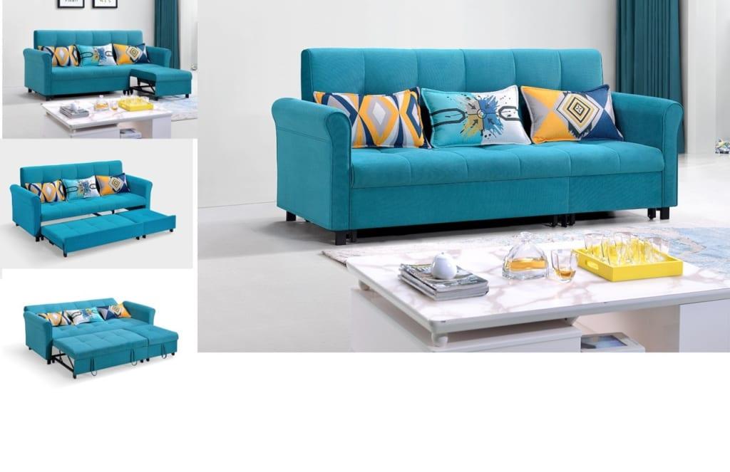 Kích thước sofa bed tiêu chuẩn thông dụng nhất hiện nay