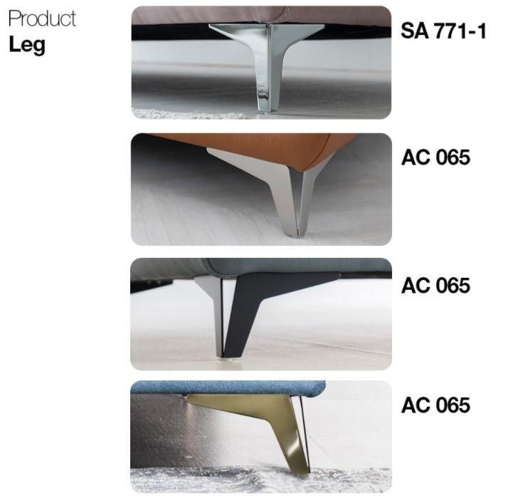 Phụ kiện sofa phần chân ghế sofa