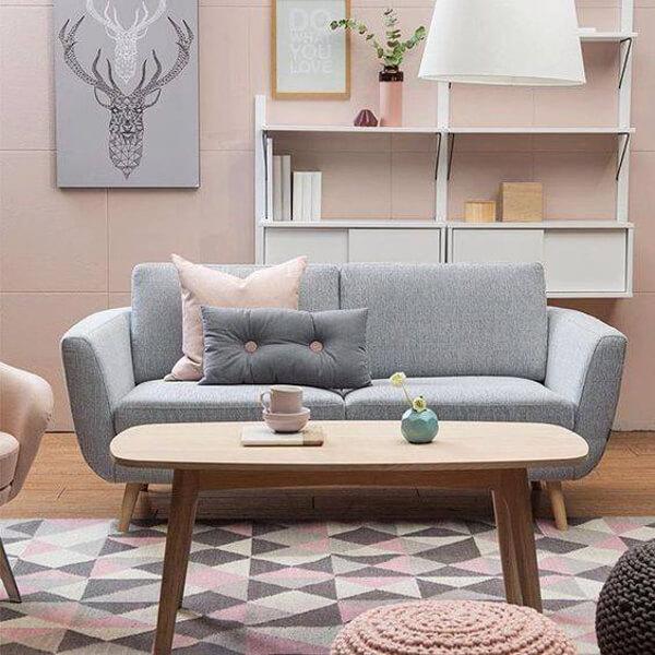 Sofa băng cao cấp 2 chỗ ngồi tối ưu diện tích không gian