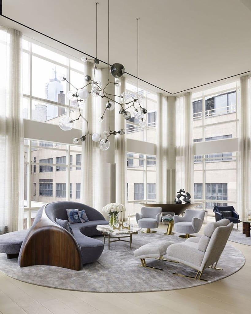 Chọn sofa cho biệt thự hiện đại