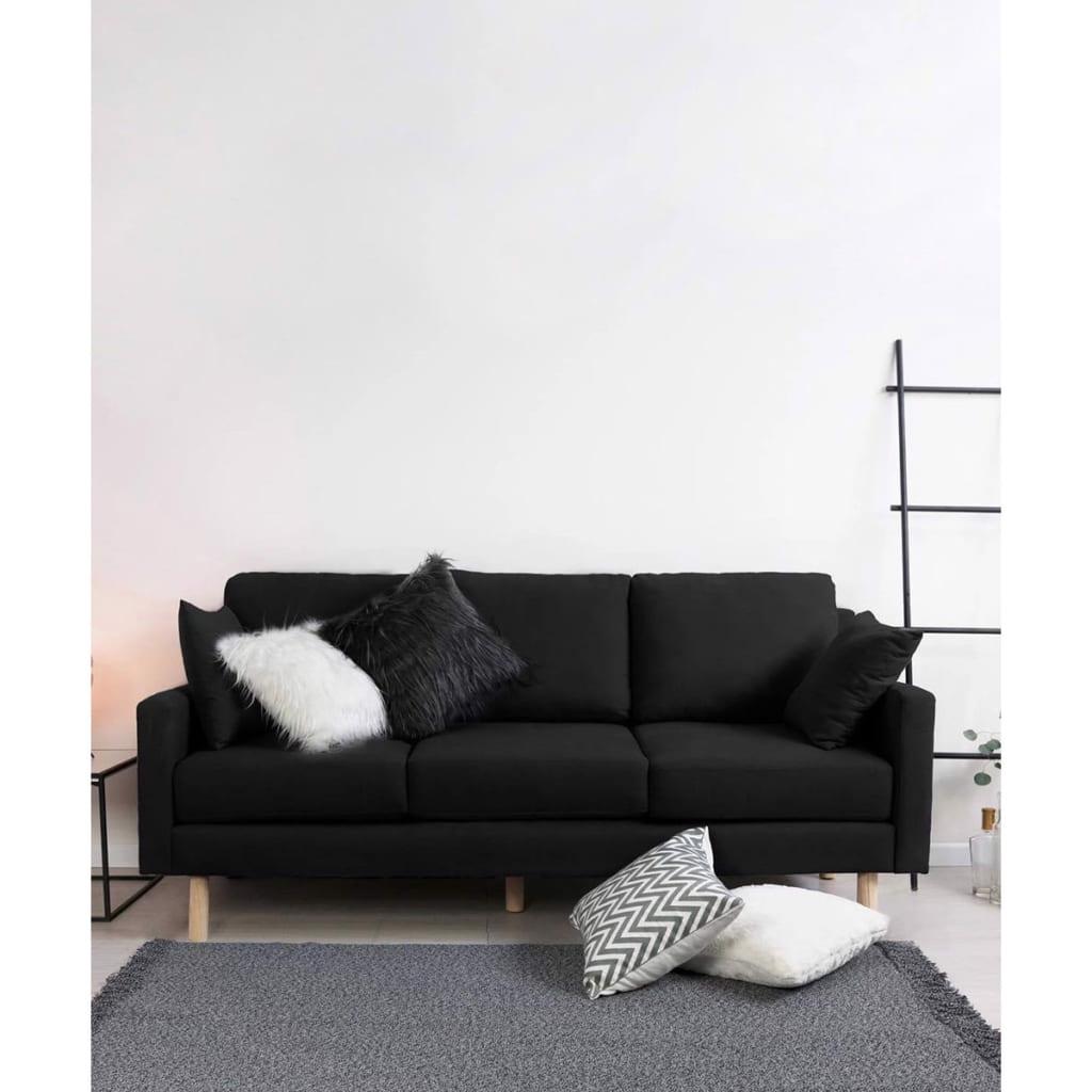 Bí quyết chọn sofa đen cho phòng khách đẹp và sang trọng