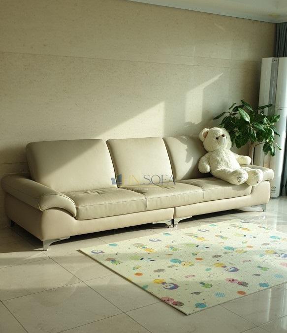 Mẫu sofa được HNSOFA hoàn thiện tại xưởng cho khách hàng