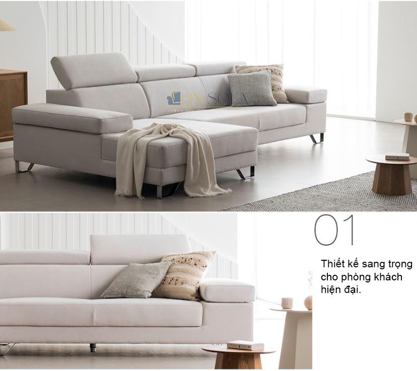 Lựa chọn sofa góc l là sự lựa chọn thông minh