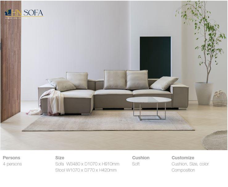 Tại Long Biên đặt đóng sofa tại xưởng HNSOFA