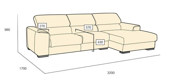 Tư vấn chọn kích thước ghế sofa 3 chỗ cho phòng khách đẹp, sang trọng