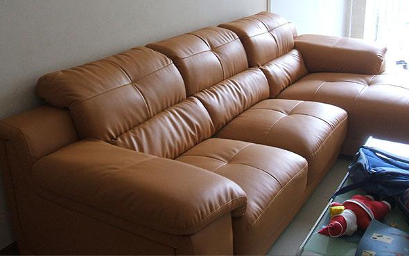 Sofa chất liệu da simili thân thiện với môi trường