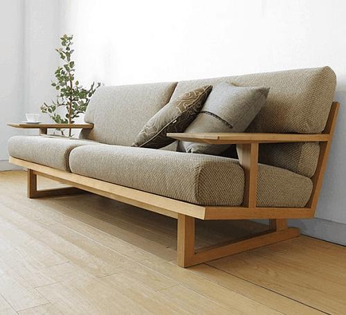 Đóng sofa vải nỉ cỏ may tại xưởng để có lựa chọn tốt nhất