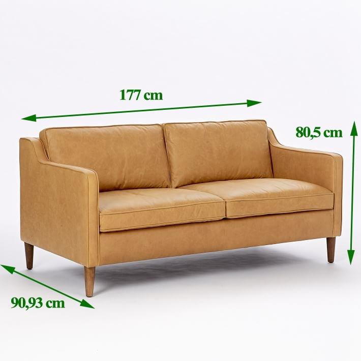 """Sofa 1m8 và những điều bạn nên biết khi chọn mua để không bị """"hớ"""""""