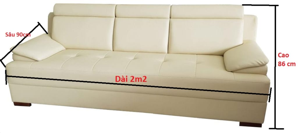Nên mua sofa 2m2 thiết kế sẵn hay đặt đóng tại xưởng sản xuất?