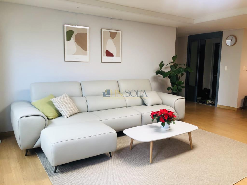 Hình ảnh thực tế ghế sofa đặt đóng tại xưởng HNSOFA