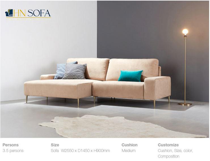Đóng sofa nâu tại xưởng để tiết kiệm chi phí