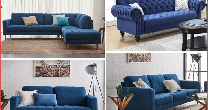 4 lý do thuyết phục bạn nên mua sofa xanh dương ngay hôm nay!