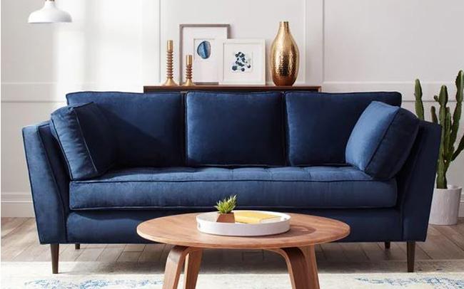 Sofa xanh dương có màu phong thủy tăng tài lộc may mắn