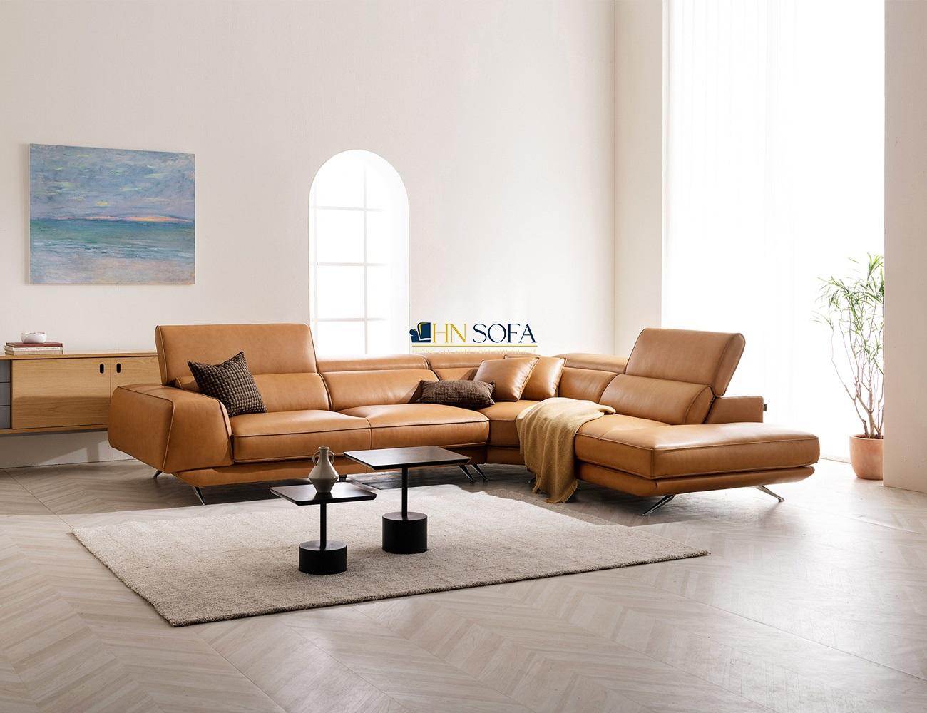 Ghế sofa phòng khách mang lại sự sang trọng cho toàn bộ không gian