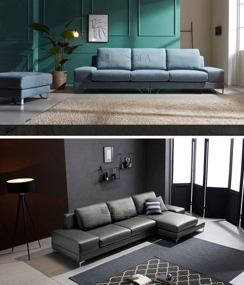 Sofa văng nỉ 3 chỗ ngồi HNSN06