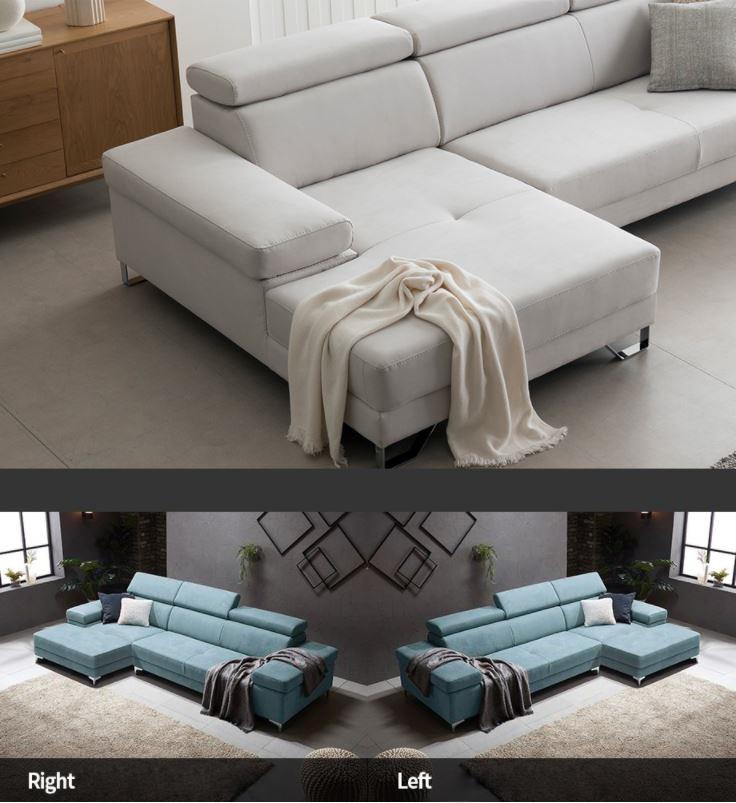 Sofa góc L ấn tượng với tone màu sang trọng