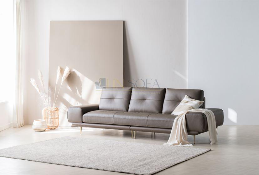 Sofa văng nỉ 2 chỗ hiện đại HNSN05