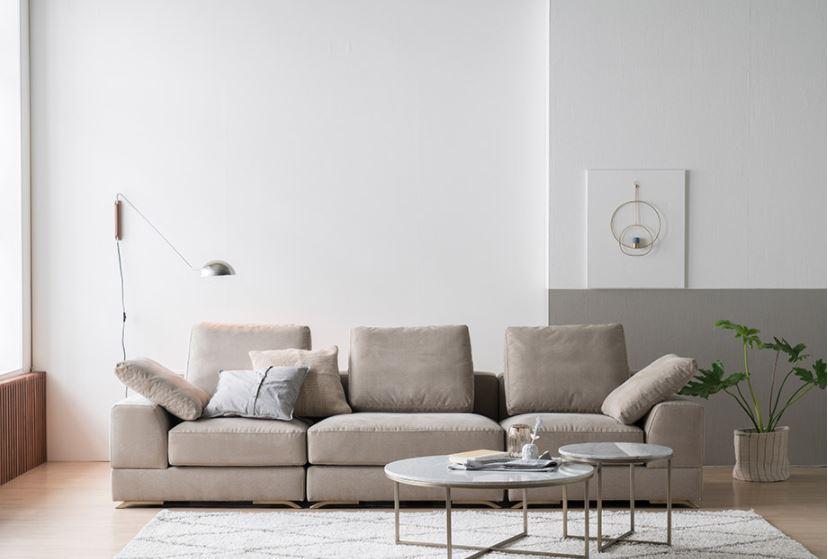 Sofa bộ nỉ Hàn cao cấp HNSN10