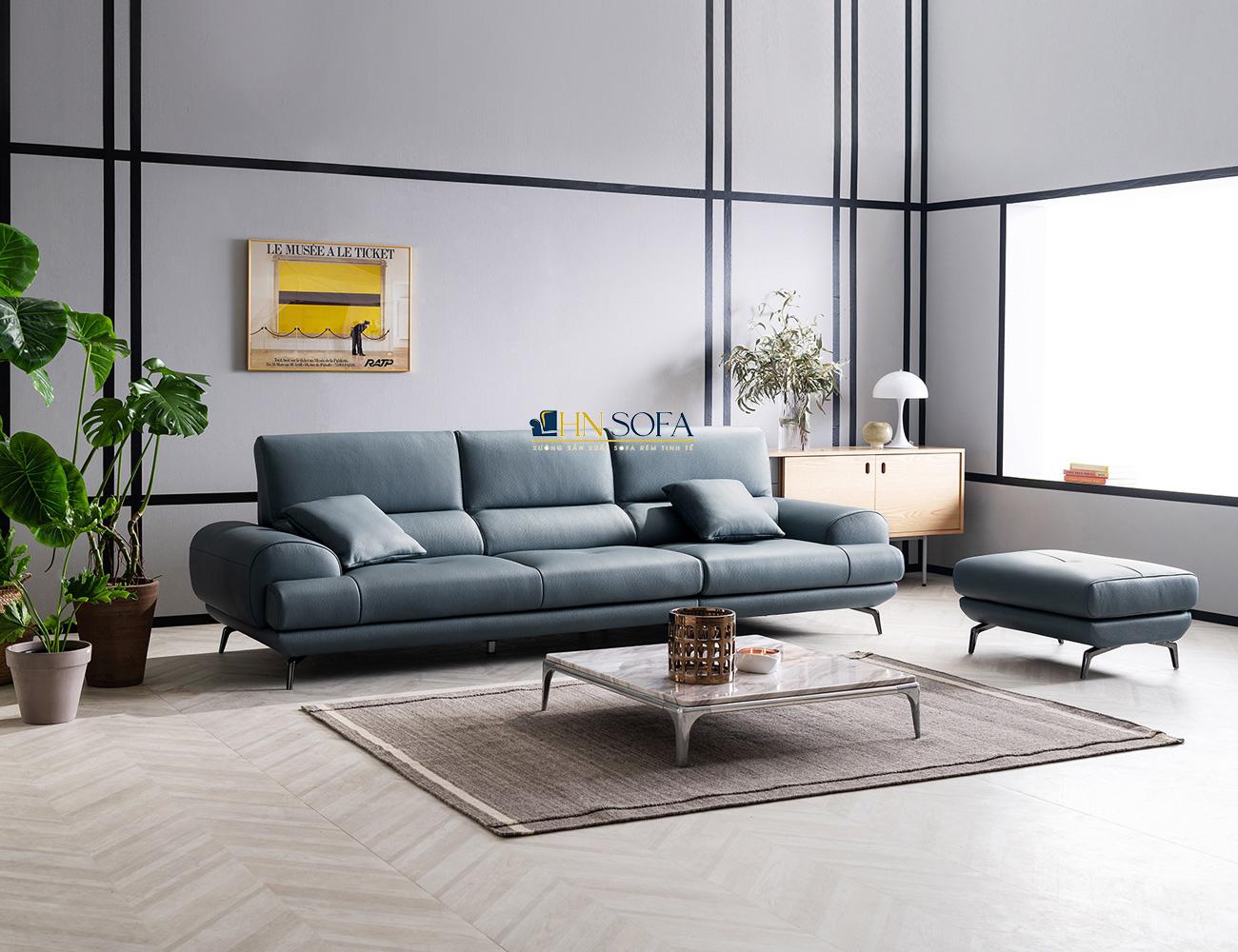 Mẫu sofa HNS33 được thiết kế tinh giản nhưng rất tinh tế