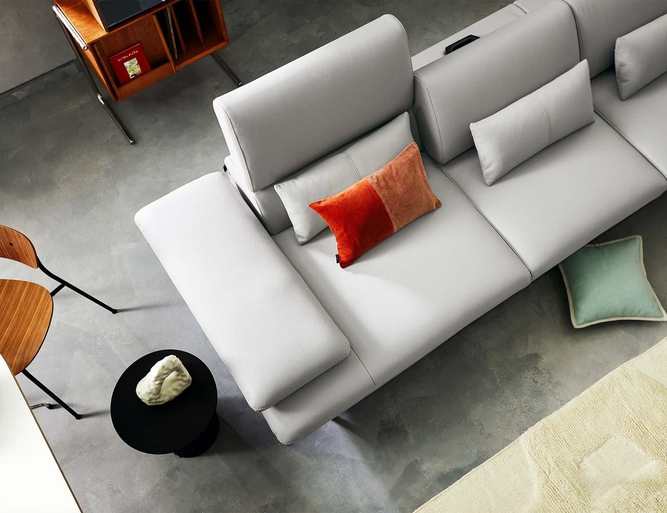 Nâng hạ gối tựa sofa linh hoạt