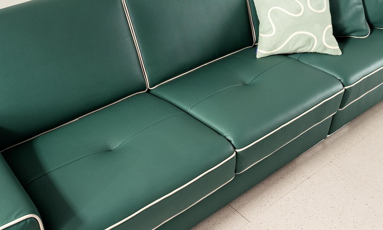 Ghế sofa được tạo điểm nhấn tinh tế