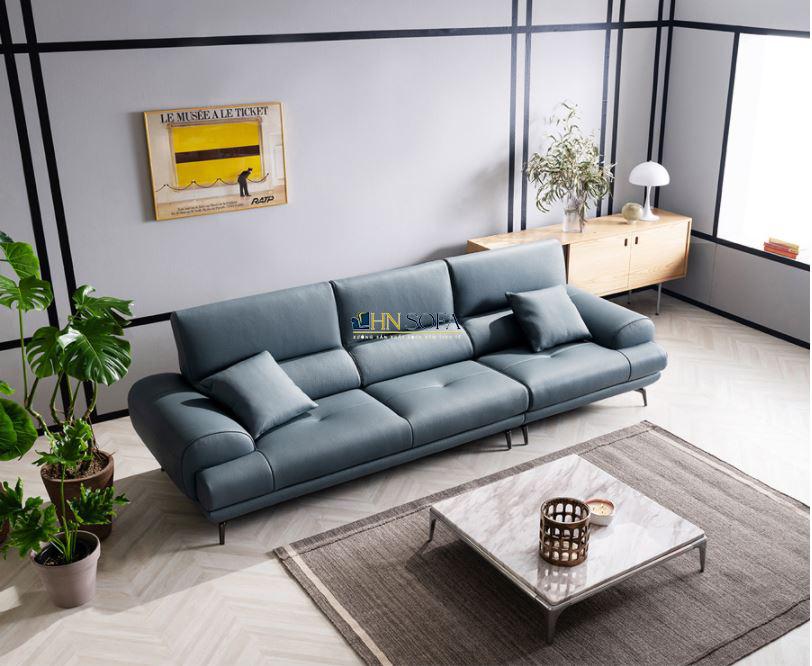 Mẫu sofa văng hiện đại kèm ghế đơn HNS33