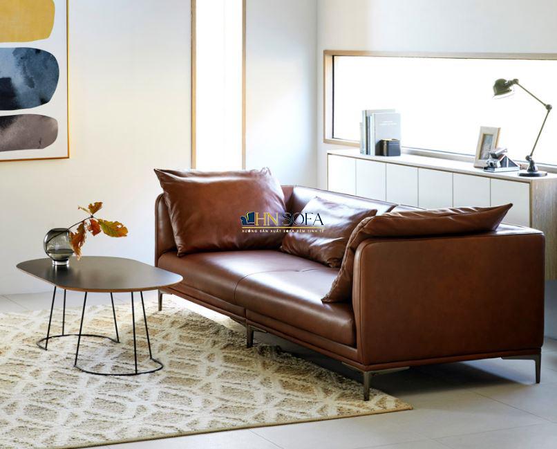 Sofa văng da Hàn 2 chỗ