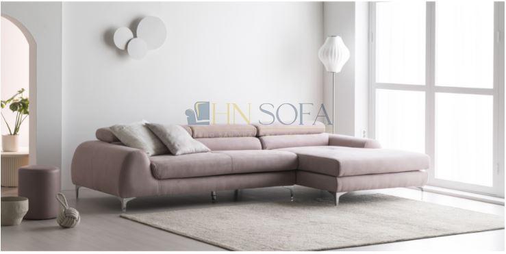 Sofa góc nỉ Hàn cao cấp HNSN07