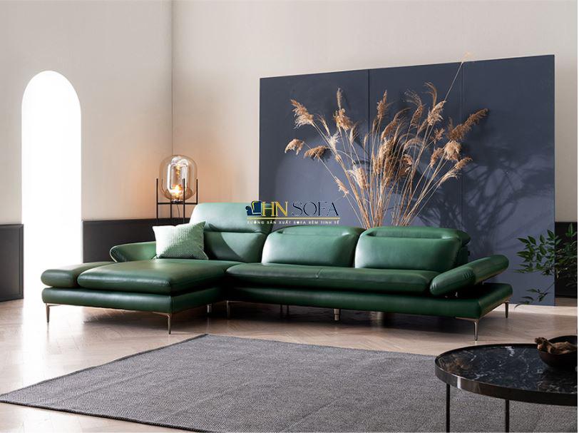Sofa bọc da Anh Quốc HNS53