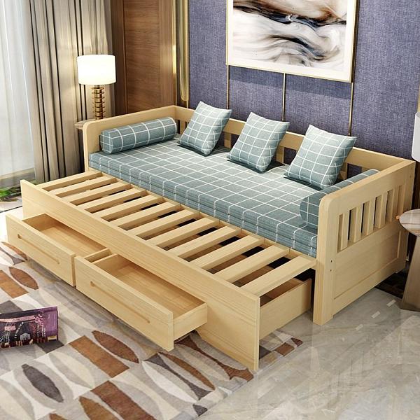 Mẫu ghế sofa đẹp dáng giường có hộc tủ