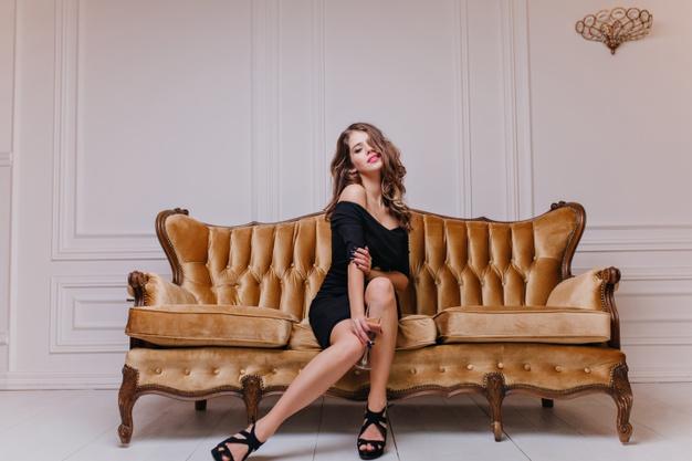 Mẫu 1: Sofa Châu Âu văng nỉ cao cấp