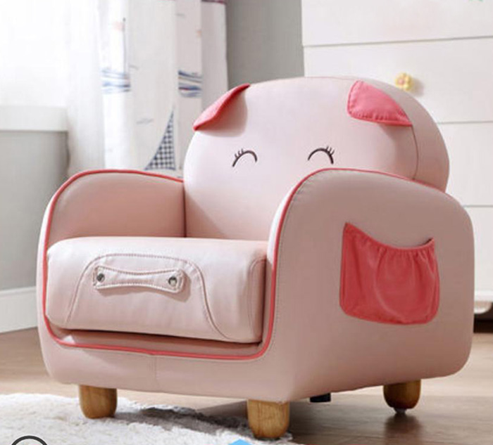 Mẫu 2 - Mẫu sofa đơn hình lợn thông minh kèm hộc đựng đồ